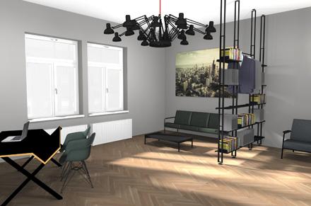 Wartebereiche Wartezimmer Büroplanung München Marcus Hansen