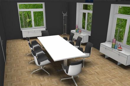 Marcus Hansen Büroplanung Wohnkonzepte Objekteinrichtung München